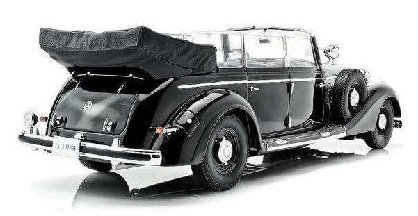 Cabriolet 1938 Black 18207 MCG 1:18 New in package Mercedes 770 W150