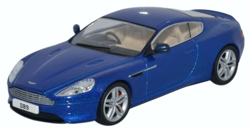 PreOrder Oxford AMDB Aston Martin DB Coupe Cobalt Blue - 2018 aston martin db9 coupe