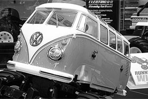 Tamiya 51475 VW Samba Combi Van Body Shell, Time Tunnel Models