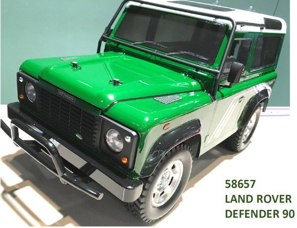 Tamiya 58657 Land Rover Defender 90 - CC-01 4WD RC Kit - COMPLETE