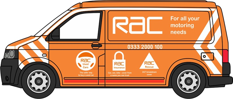 f0b737e023 Pre-Order Oxford 76T5V001 VW T5 Van RAC 1 76 (Late 2018   Early 2019 ...