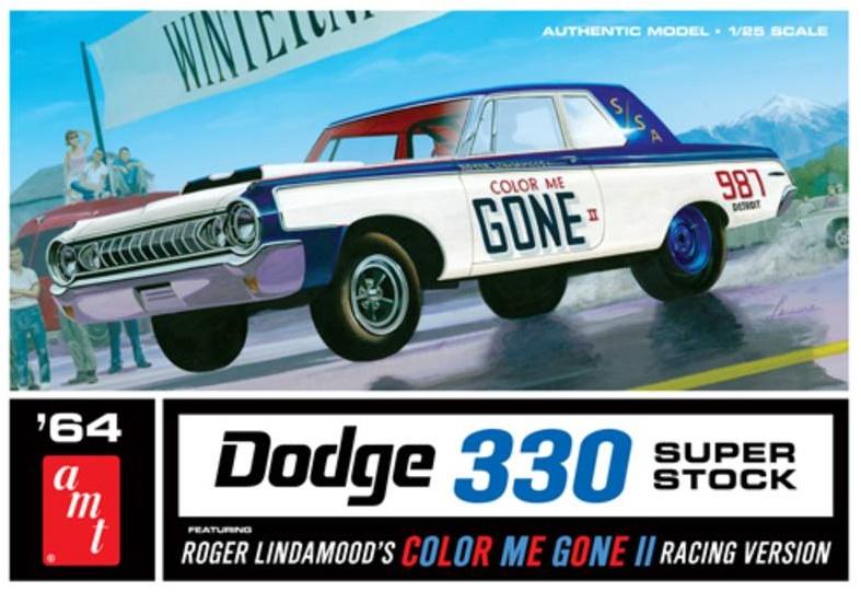 AMT 987 Dodge 330 Superstock 1964 Color Me Gone Race Car 1