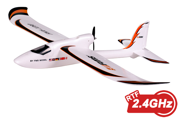 FMS Easy Trainer 1 3M Wingspan RC Plane, Ready To Fly, Complete