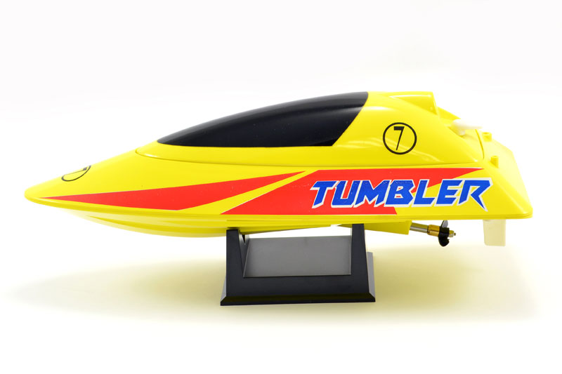Volantex TUMBLER YELLOW Mini Racing Boat - Ready To Run with Charger