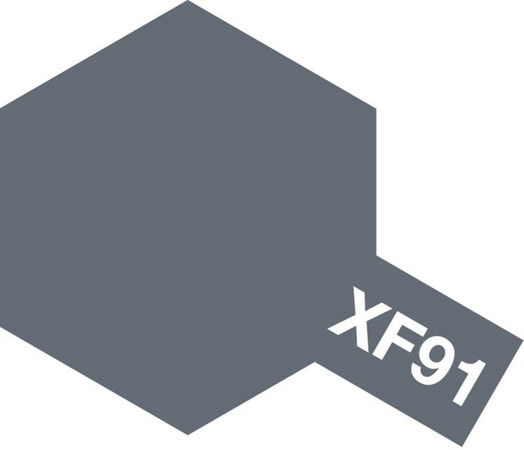 Tamiya Acrylic Paint Xf-91 IGN Gray YA (UK Sales Only)